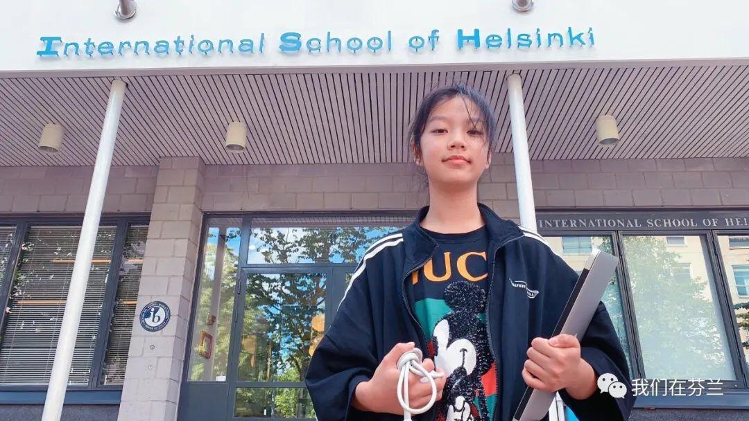 【照片墙】我家大闺女 at ISH(赫尔辛基国际学校)