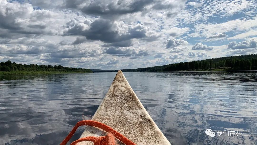 """【北极圈攻略03】乘独木舟在""""欧纳斯河""""的神奇漂流~"""